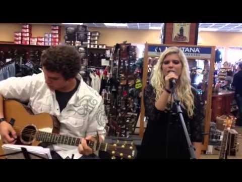 Allison Bray and Noah Shartzer