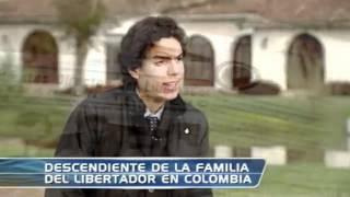 Descendiente más joven de familia de Simón Bolívar vive en Bogotá