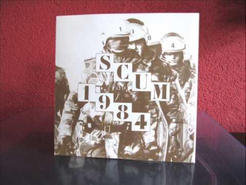 """Scum - 1984 7""""ep (1981)"""