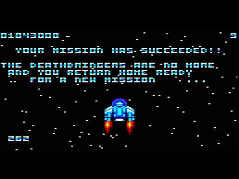 Astro Marine Corps - Amstrad CPC - ending