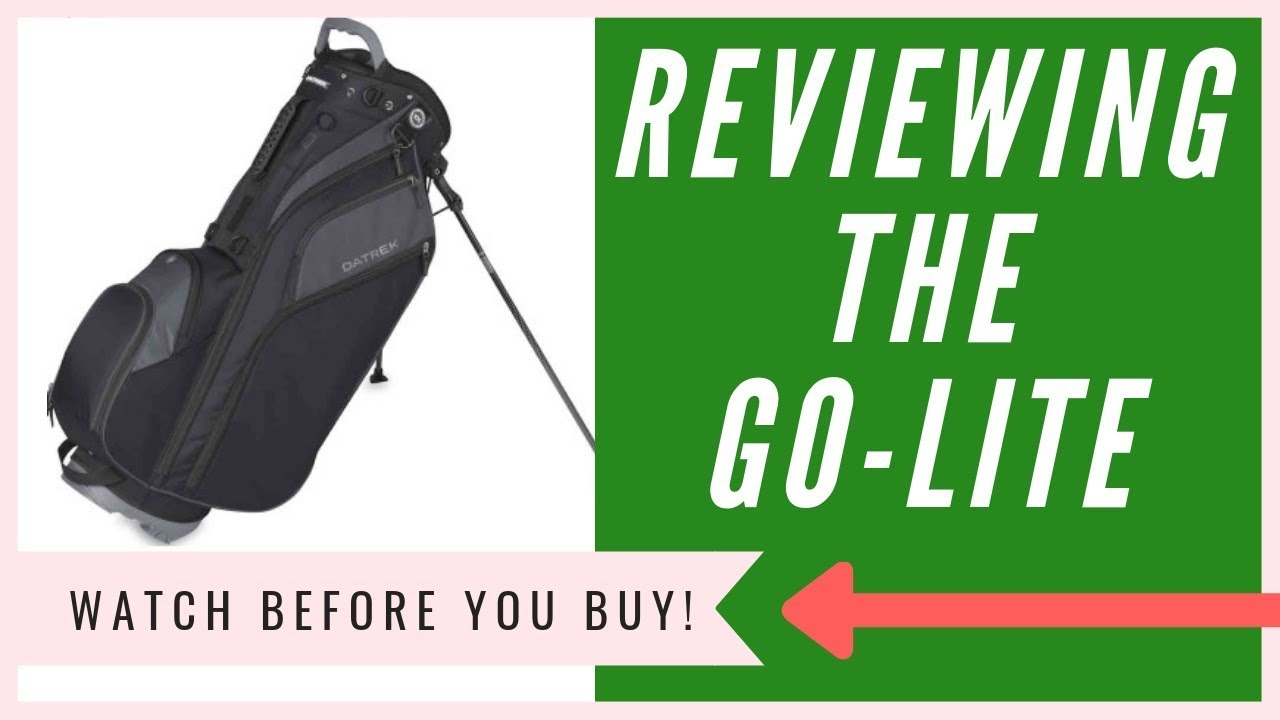 d09c85381399 Datrek Go Lite Hybrid Stand Bag Review - My HONEST Opinion - YouTube