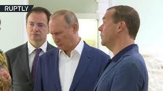 بوتين يقترح تحويل محمية بالقرم إلى 'مكة' يحج إليها الروس.. فيديو