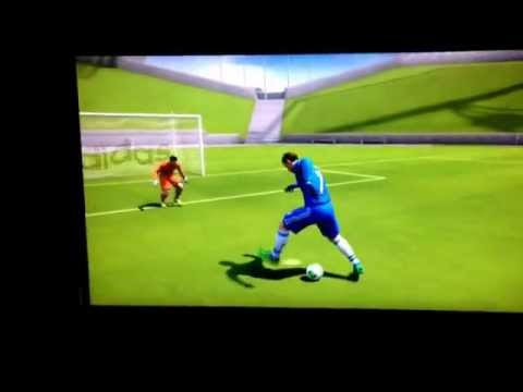 Best FIFA goal with Hughes