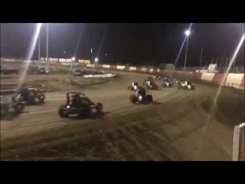 """On the Rail"": USAC Sprints Night 2 at East Bay Raceway Park"