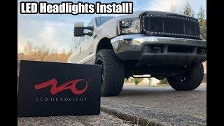 NAO LED Headlight Install!