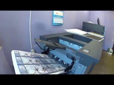 Печать буклетов на Konica Minolta Bizhub Press C8000