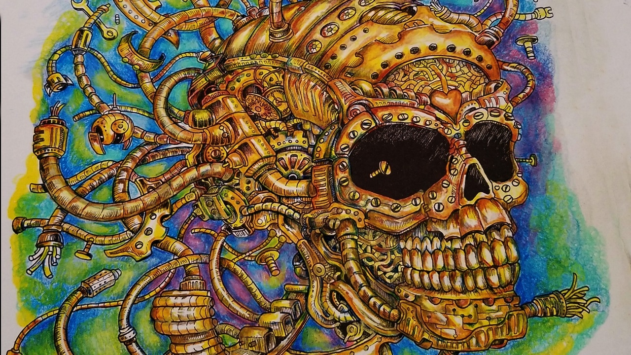 Color My World / Imagimorphia/ The Gold Skull / Kerby ...