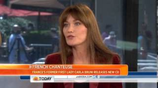 Carla Bruni I don 39 t miss being first