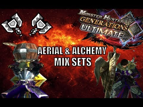 Monster Hunter Generations Ultimate - Charge Blade Mix Sets- Aerial Slams & Alchemy Jams thumbnail