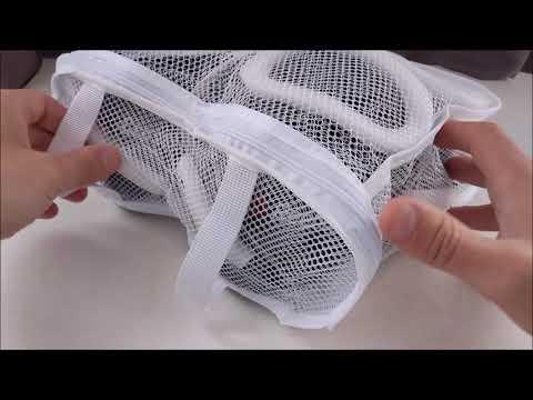⭕ Mesh Shoes Laundry Bag Sneaker Washing Protector