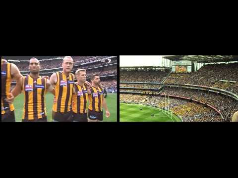 2013 AFL Grand Final - Cup, Anthem & Opening Bounce.
