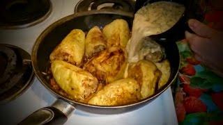 Фаршированный перец с мясом готовим на обед быстро и вкусно