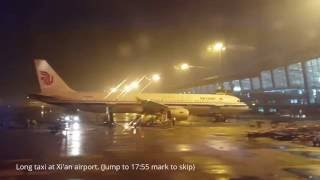 flight review air china first class pek xiy a321