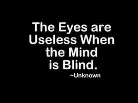 Blind Quotes Beauteous Blind Quotes And Family  Youtube