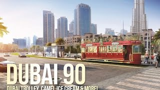 Dubai 90 - Dubai Trolley, Camel Milk, BMW i8
