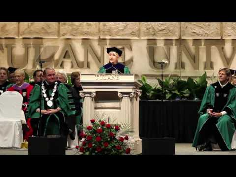 Helen Mirren's Tulane University commencement address