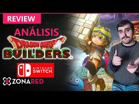 DRAGON QUEST Builders Nintendo Switch, ANÁLISIS / REVIEW: ¡Así sí!