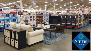 SAM'S CLUB SHOP WITH ME NEW ITEMS GIFTS HOME FURNITURE KITCHENWARE DECOR SHOPPING STORE WALK THROUGH