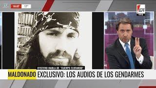 """""""Maldonado: los audios de los gendarmes"""", en """"De 18 a 21"""" de E.Feinmann - 22/09/17"""