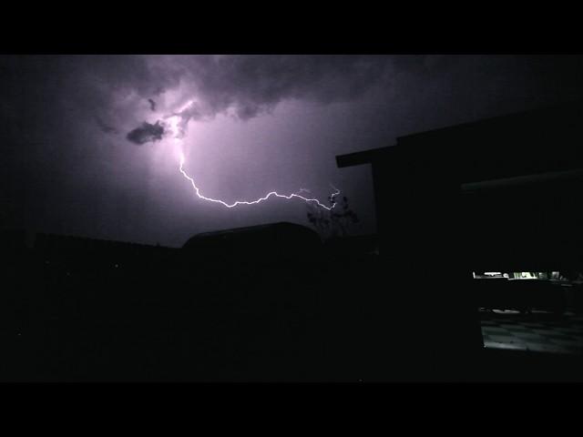 Lightning Storm over Bakersfield, CA 9-13-7