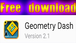 UPDATED! Geometry Dash 2.111 FREE APK DOWNLOAD! - Android + Steam + Apple CRACKED Download