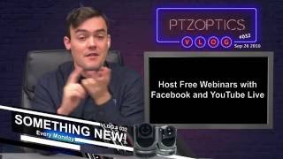 Free Webinar Service with Facebook and YouTube Live