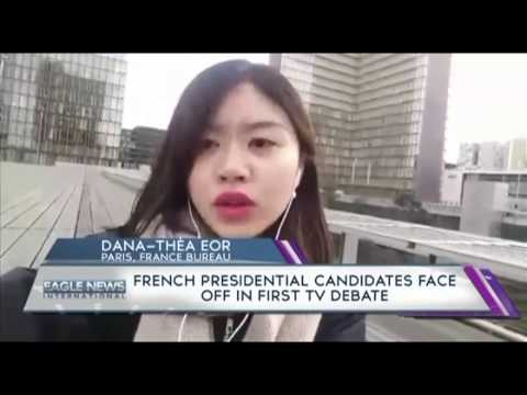 French presidential candidates face off in TV debate - Dana-Theo Eor/Paris, France