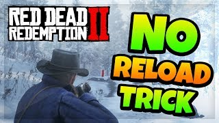 Red Dead Redemption 2 Tips & Tricks! - NO RELOAD TRICK! (Best Hunting & Combat Guide!) RDR2 Gameplay Video
