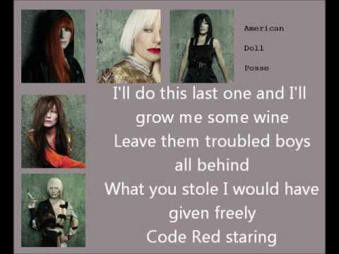 tori amos code red lyric video