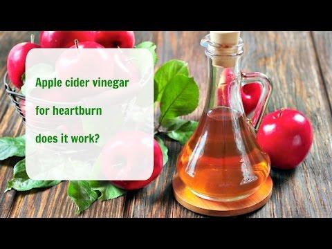 Apple cider vinegar for heartburn does it work