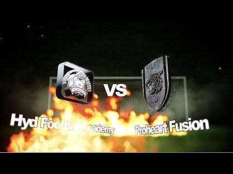 Hyderabad Football Academy Vs Proheart Fusion  || 9-Dec-2017 || HFL Season 3 || Isports Star