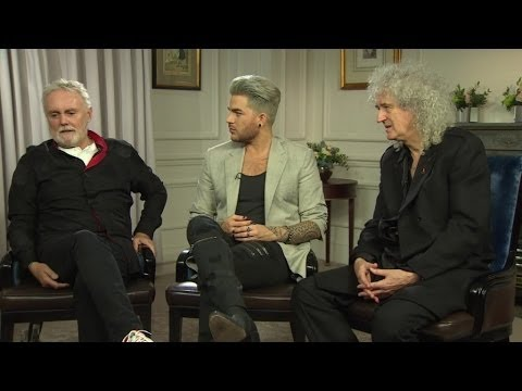 Queen + Adam Lambert: European Tour 2016 Interview - Part 1