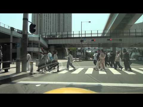フェラーリ360スパイダー(黄色)にてお台場近辺を走行した時の車載動画になります。