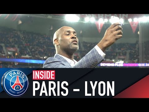 INSIDE: PARIS SAINT-GERMAIN VS OLYMPIQUE LYONNAIS