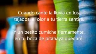 Yo te amo Nicaragua (Letra)