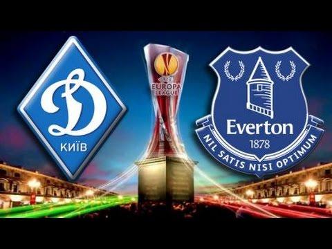 Dynamo Kyiv 5 - 2 Everton Goal Highlight 19/03/2015