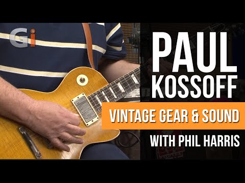 Paul Kossoff Trademark Sound And Vintage Gear with Phil Harris | Guitar Interactive Magazine