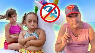 Maria Clara Diverte na Praia e Aprende Novas Regras de Conduta para Crianças - MC Divertida