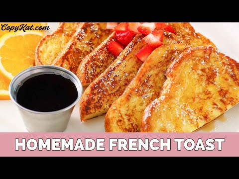 French Toast for Beginners - Learn How Cook
