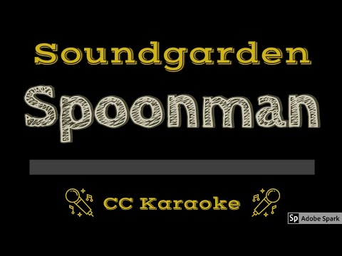 Soundgarden   Spoonman CC Karaoke Instrumental Lyrics