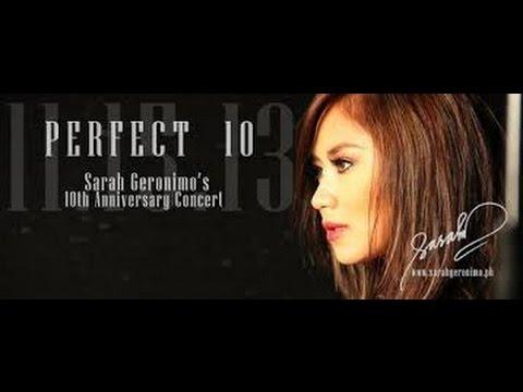 Sarah Geronimo Perfect 10 Full Concert