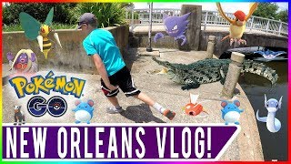 WATCH ME SAVE ALLEN'S LIFE! Lafreniere Park Wildlife Encounters! New Orleans Travel Vlog with Family