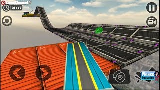 Impossible Truck Tracks Drive / Cargo Truck Simulation / Android Gameplay Video #2