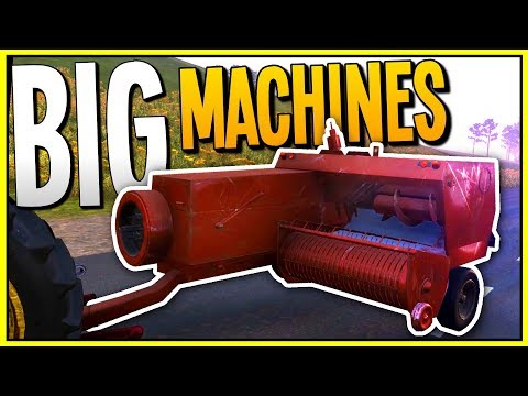 GETTING MORE BIG FARMING MACHINES! Hay Baler and Grain Trailer - Farmer's Dynasty Gameplay