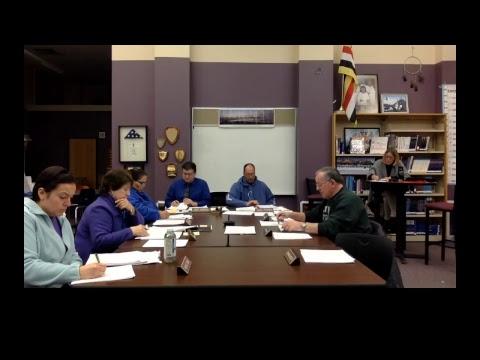 School District of Bayfield School Board Meeting 2018-01-08