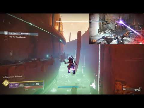 (6:45) 980 Master Nightfall Ordeal - Tree Of Probabilities - Platinum
