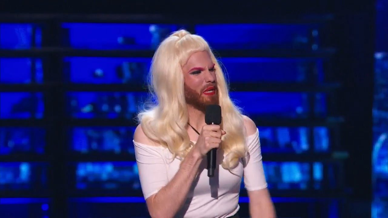 Americas Got Talent 2015 S10e09 Judge Cuts Scott Heierman Cross Dressing Comedian Crashes Youtube