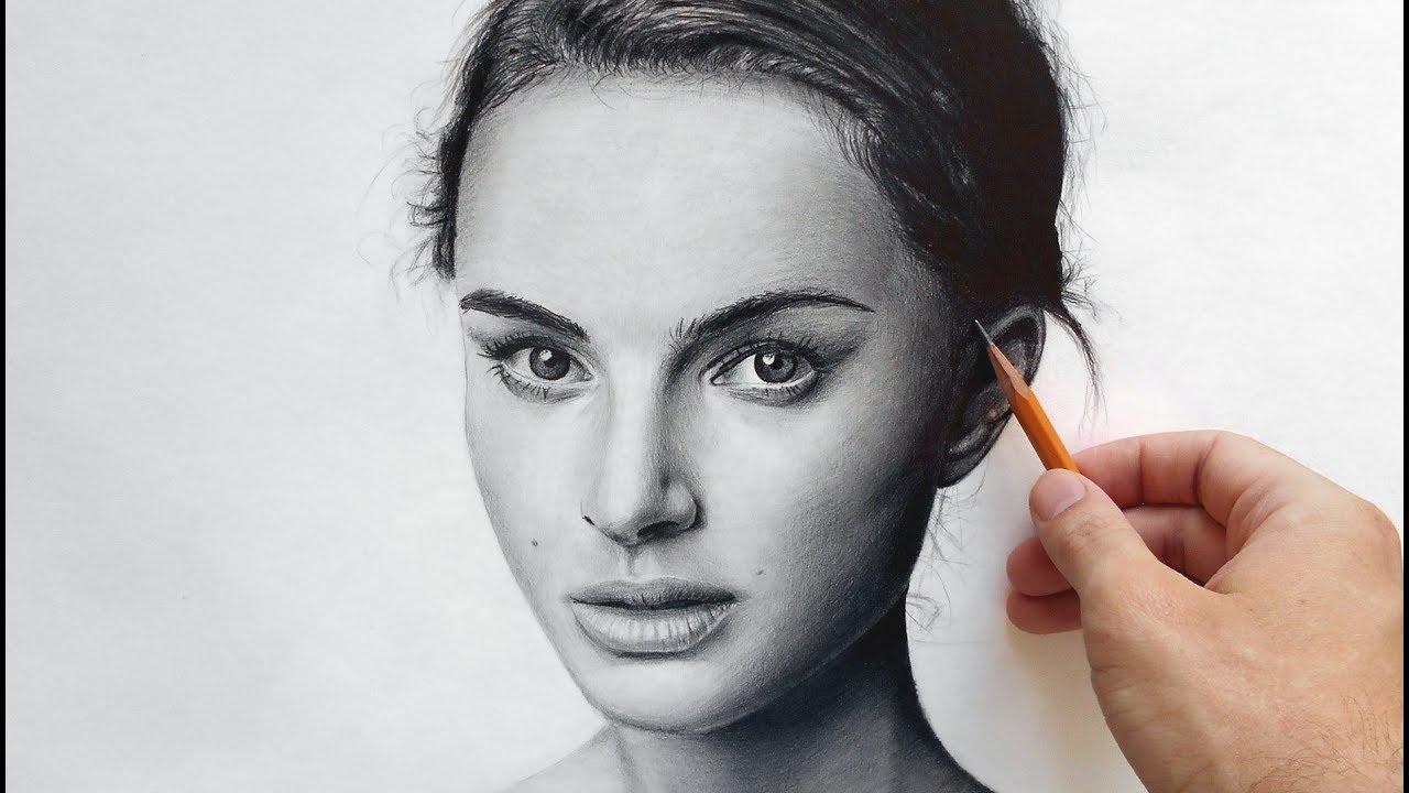 Натали Портман - портрет карандашом (Natalie Portman ...: http://www.youtube.com/watch?v=43KDfLjqU5k