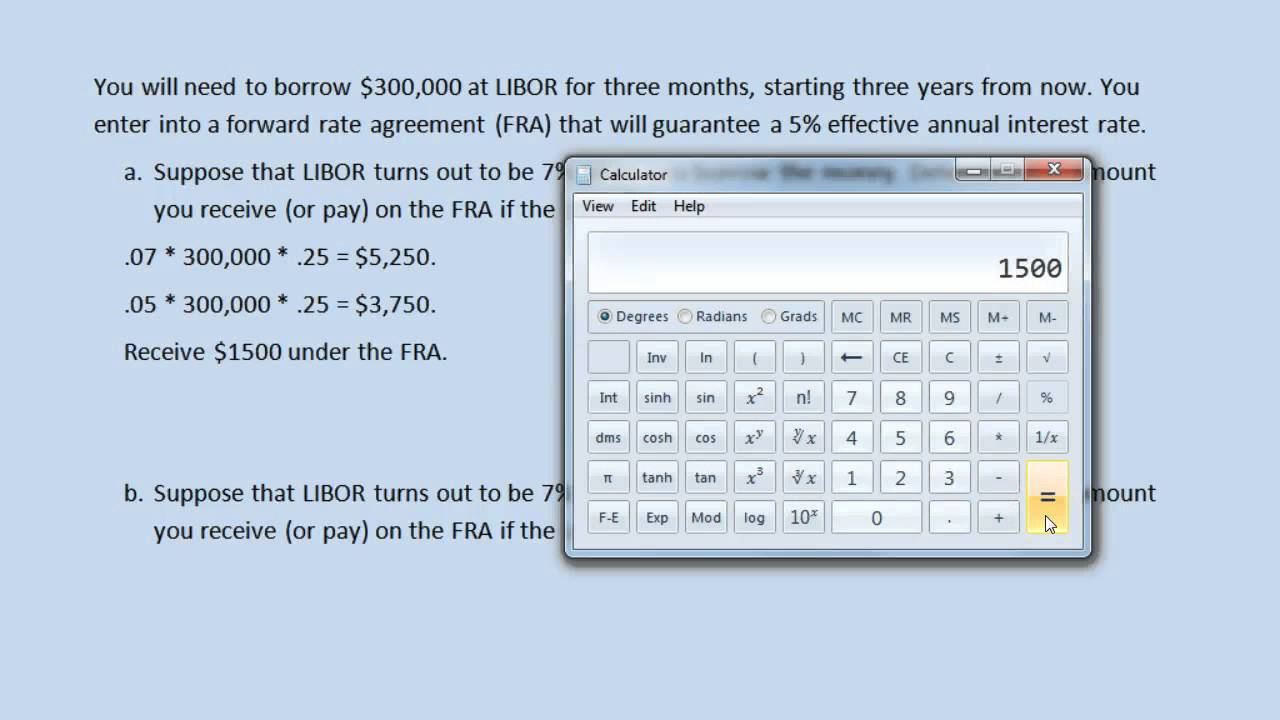 Forward rate agreements youtube forward rate agreements platinumwayz