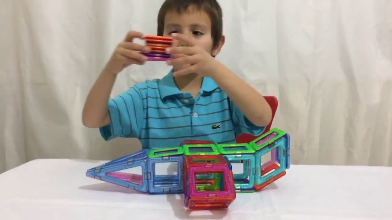 Магнитный конструктор Mag Building - YouTube